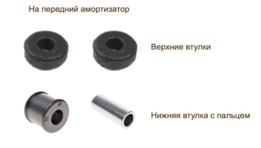 Втулка амортизатора на Фольксваген Т4